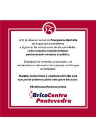 Bricocentro Informa - Pontevedra #EsteVirusLoParamosUnidos