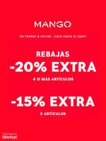 Ofertas de MANGO, Rebajas - Hasta -20% extra