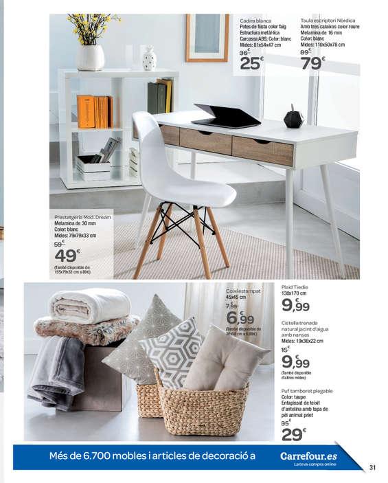 Ofertas de Carrefour, Obre casa teva a noves idees
