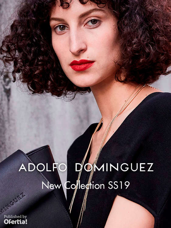 Ofertas de Adolfo Domínguez, New Collection SS19
