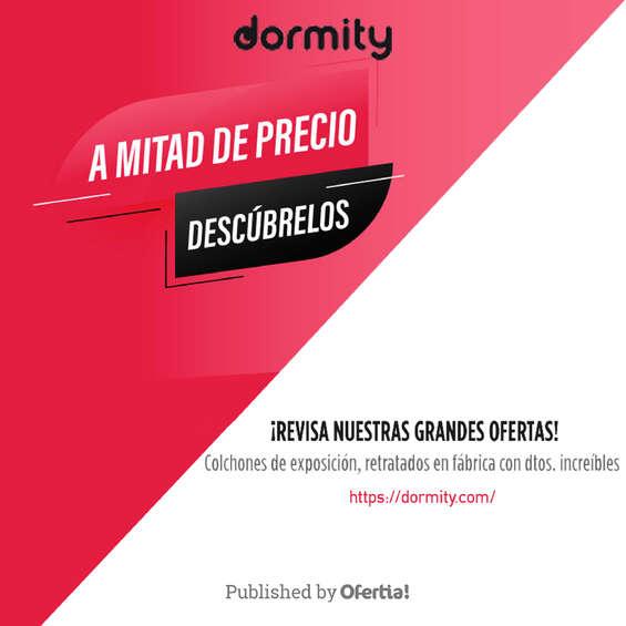 Ofertas de Dormity.com, ¡Revisa nuestras grandes ofertas!