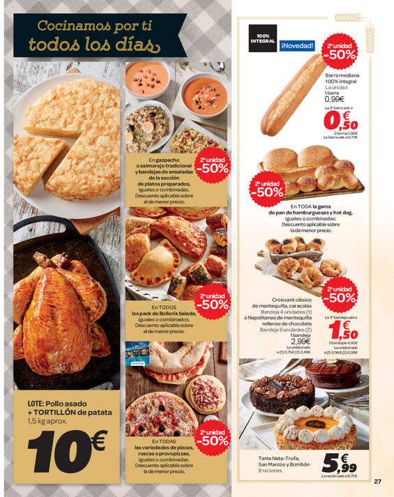 Ofertas de Carrefour, 50% Que Vuelve