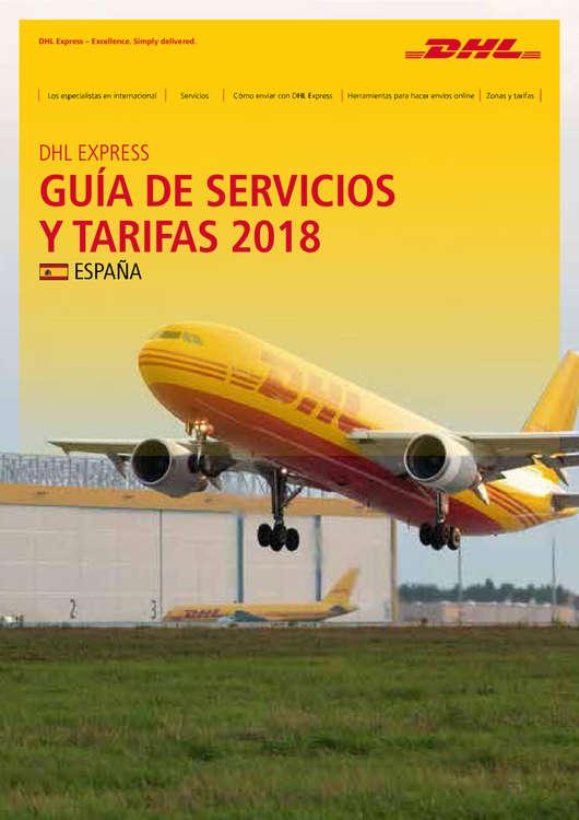 Ofertas de Dhl, Guía de Servicios y Tarifas 2018