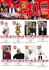 Halloween con un 40% de descuento