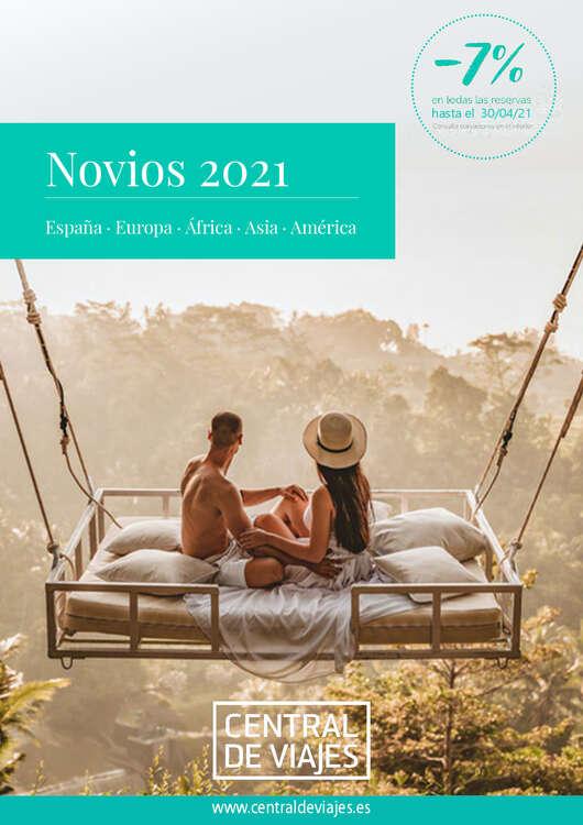 Ofertas de Central de Viajes, Novios 2021