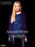 Ofertas de Eleonora Amadei, Autumn Winter 2017-2018