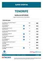Ofertas de Soltour, Tenerife Febrero