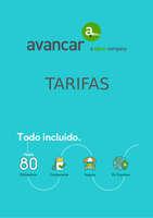 Ofertas de Avancar, Tarifas