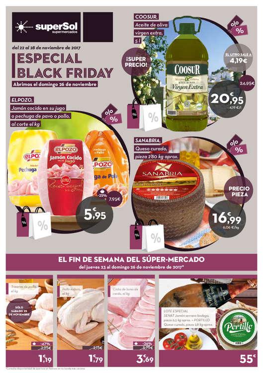 Ofertas de SuperSol, Especial Black Friday