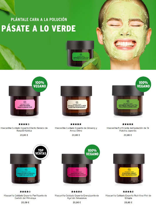 Ofertas de The Body Shop, Pásate a lo verde