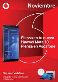 Noviembre - Piensa en tu nuevo Huawei Mate 10, piensa en Vodafone