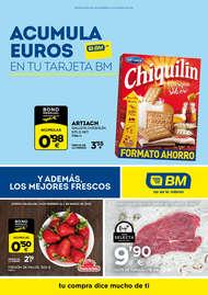 Acumula euros en tu tarjeta BM