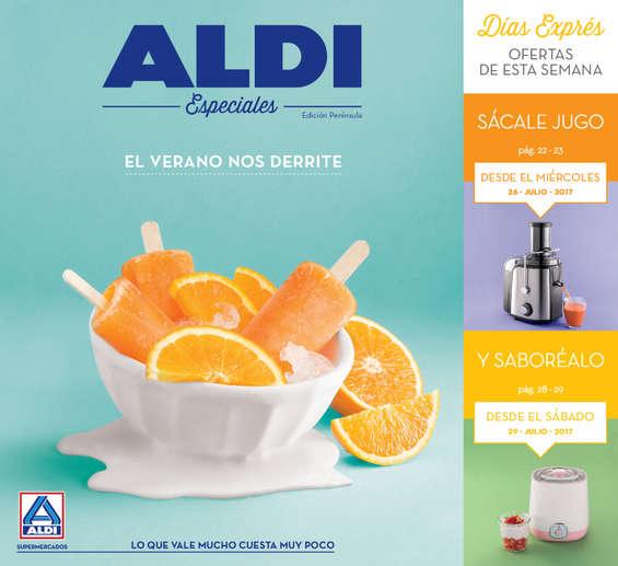 Ofertas de ALDI, El Verano nos derrite