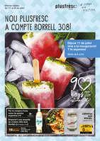 Ofertas de Plusfresc, Nou Plusfresc a compte borrell 308!