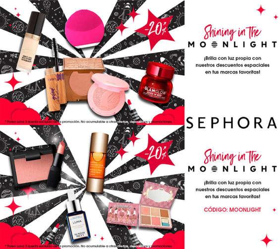 Ofertas de Sephora, Shining in the moonlight