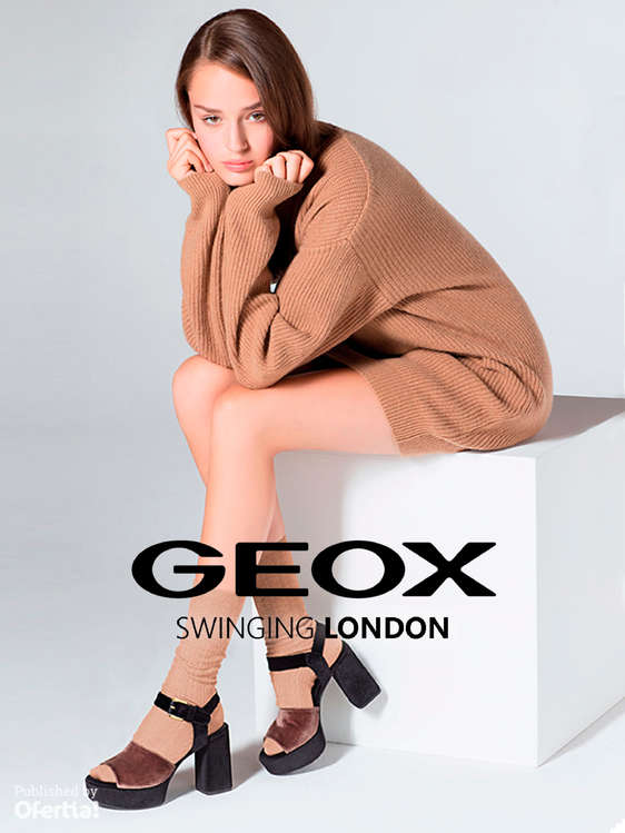 Ofertas de Geox, Swinging London