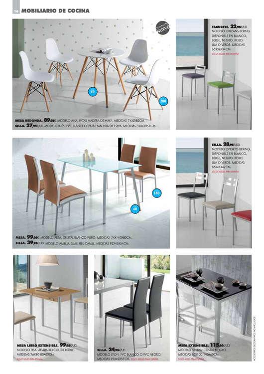 Comprar Conjunto mesa y sillas comedor barato en Segovia - Ofertia