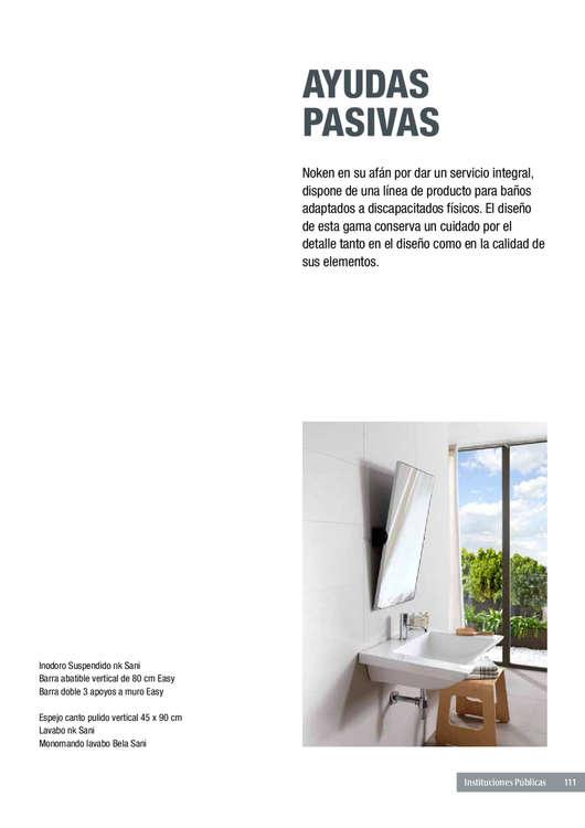 Ofertas de Porcelanosa, INSTITUCIONES-PUBLICAS