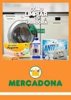 Ofertas de Mercadona, Cómo lavar tu lavadora