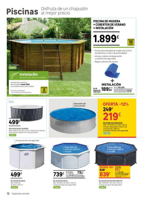 Comprar piscinas y accesorios barato en bilbao ofertia for Piscinas eroski