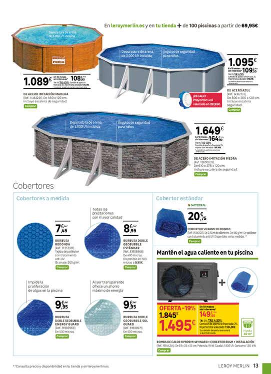 Comprar piscina desmontable barato en vigo ofertia for Piscinas aki catalogo