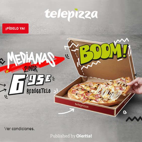 Ofertas de Telepizza, Boom!