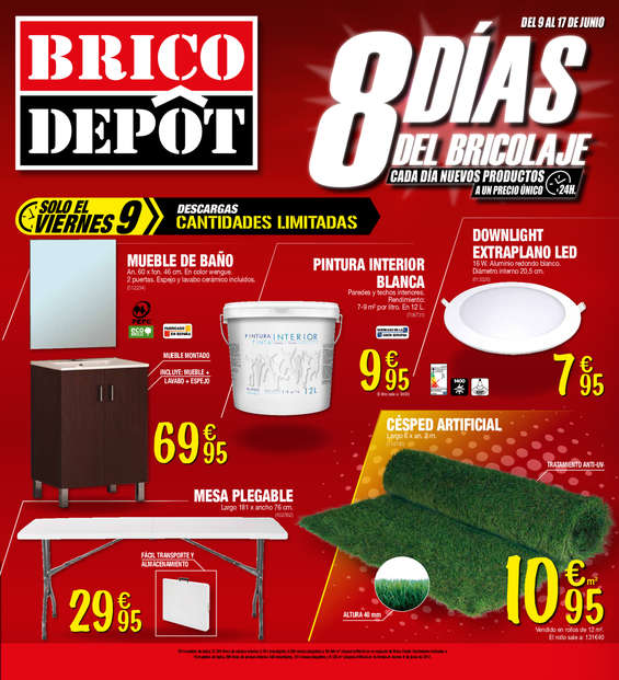 Bricodepot ofertas cat logo y folletos ofertia for Bricodepot mesa jardin