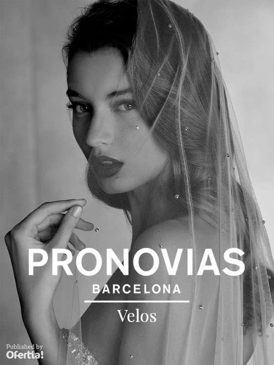 Ofertas de Pronovias, Velos