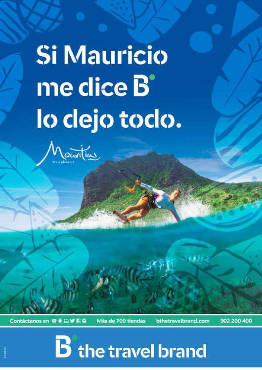 Ofertas de Barceló Viajes, Si Mauricio dice B lo dejo todo