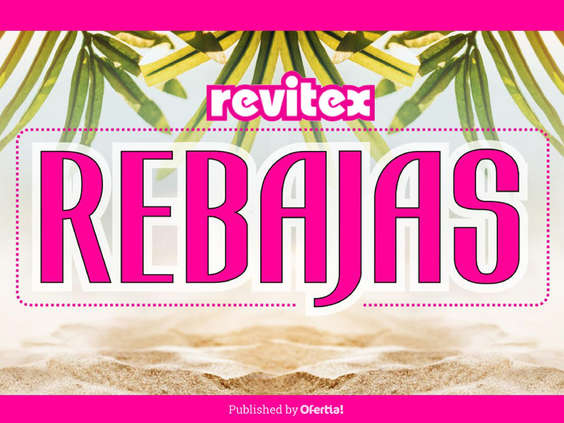 Ofertas de Revitex, Rebajas