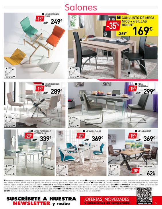 Comprar Conjunto mesa y sillas comedor barato en Dos Hermanas - Ofertia