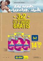 Ofertas de BM Supermercados, 3x2