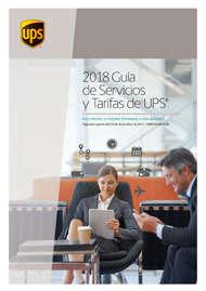 2018 Guía de servicios y tarifas de UPS