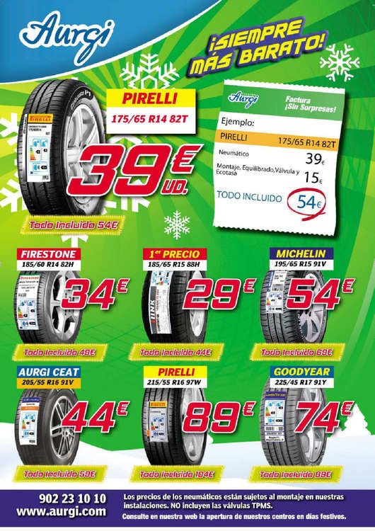 Ofertas de Aurgi, ¡Siempre más barato!