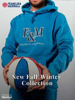 Ofertas de Franklin & Marshall, New Fall Winter Collection