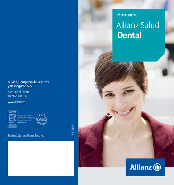 Ofertas de Allianz, Allianz Salud Dental