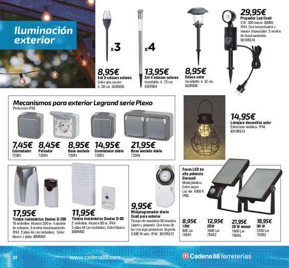 Ofertas de Cadena 88, Especial verano 2019