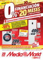 Ofertas de Media Markt, 0% en financiación - ¡Últimos días!