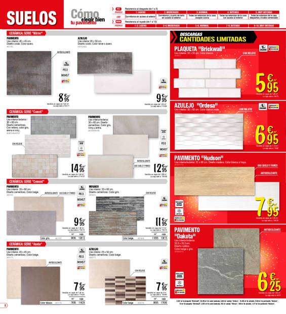 Bricodepot suelos ofertas y cat logos destacados ofertia - Pellets bricomart ...