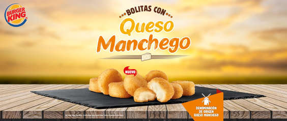 Ofertas de Burger King, Bolitas con queso