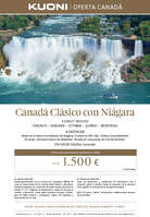 Ofertas de Kuoni, Canadá clásico con Niágara