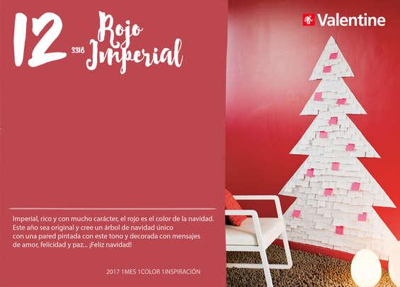 Ofertas de Valentine Decocenter, Diciembre - Rojo Imperial