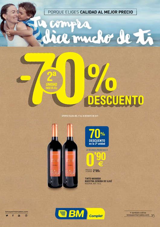 Ofertas de BM Supermercados, Hasta un 70% de descuento