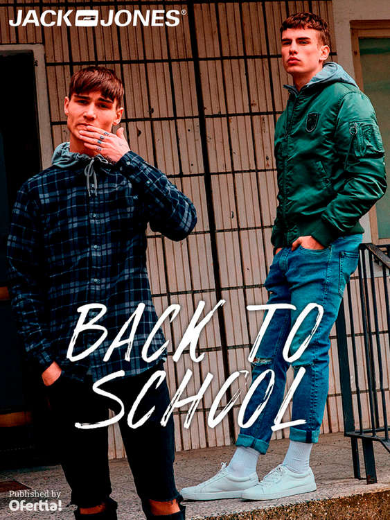 Ofertas de Jack & Jones, Back to School