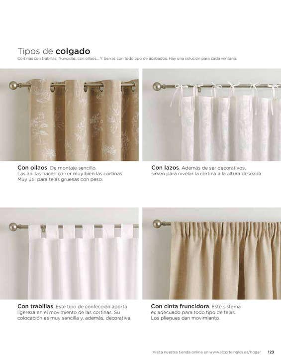 El corte ingl s cortinas ofertas y cat logos destacados - Telas para cortinas el corte ingles ...
