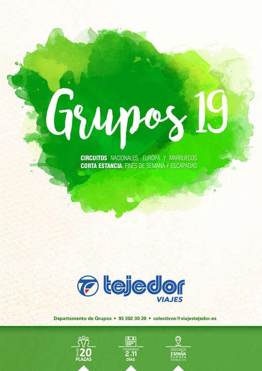 Ofertas de Viajes Tejedor, TEJEDOR GRUPOS 19