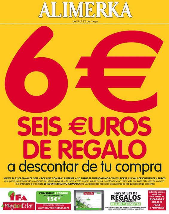Ofertas de Alimerka, Seis euros de regalo