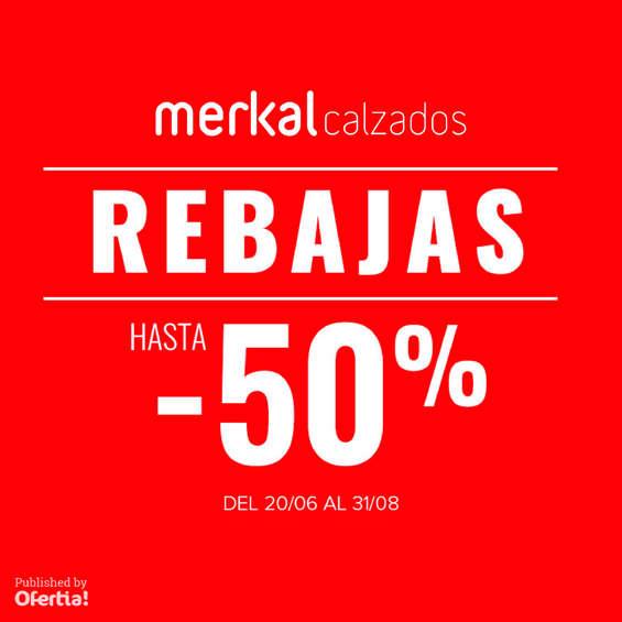 Ofertas de Merkal, Rebajas hasta -50%