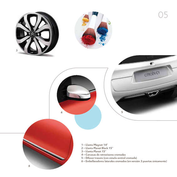 Ofertas de Citroën, Catalogo Accesoriso C1