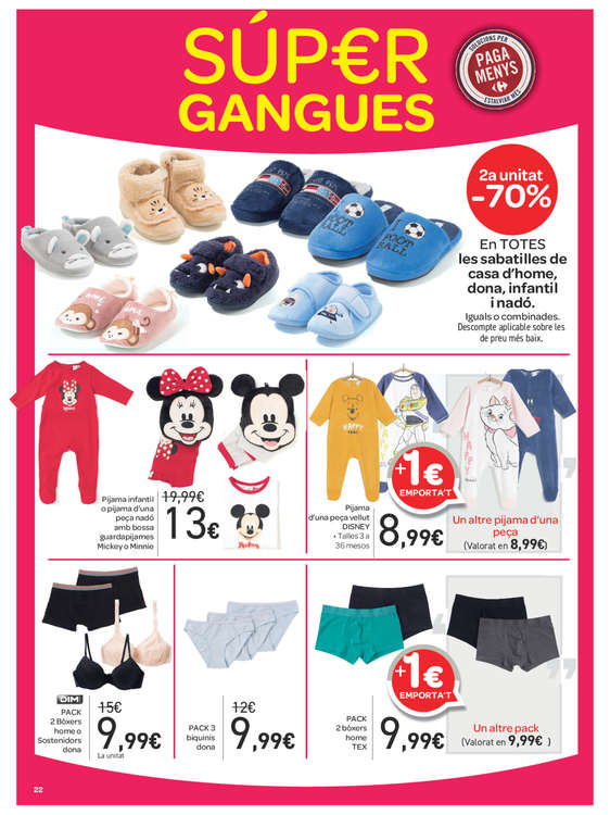 Ofertas de Carrefour, Súper gangues